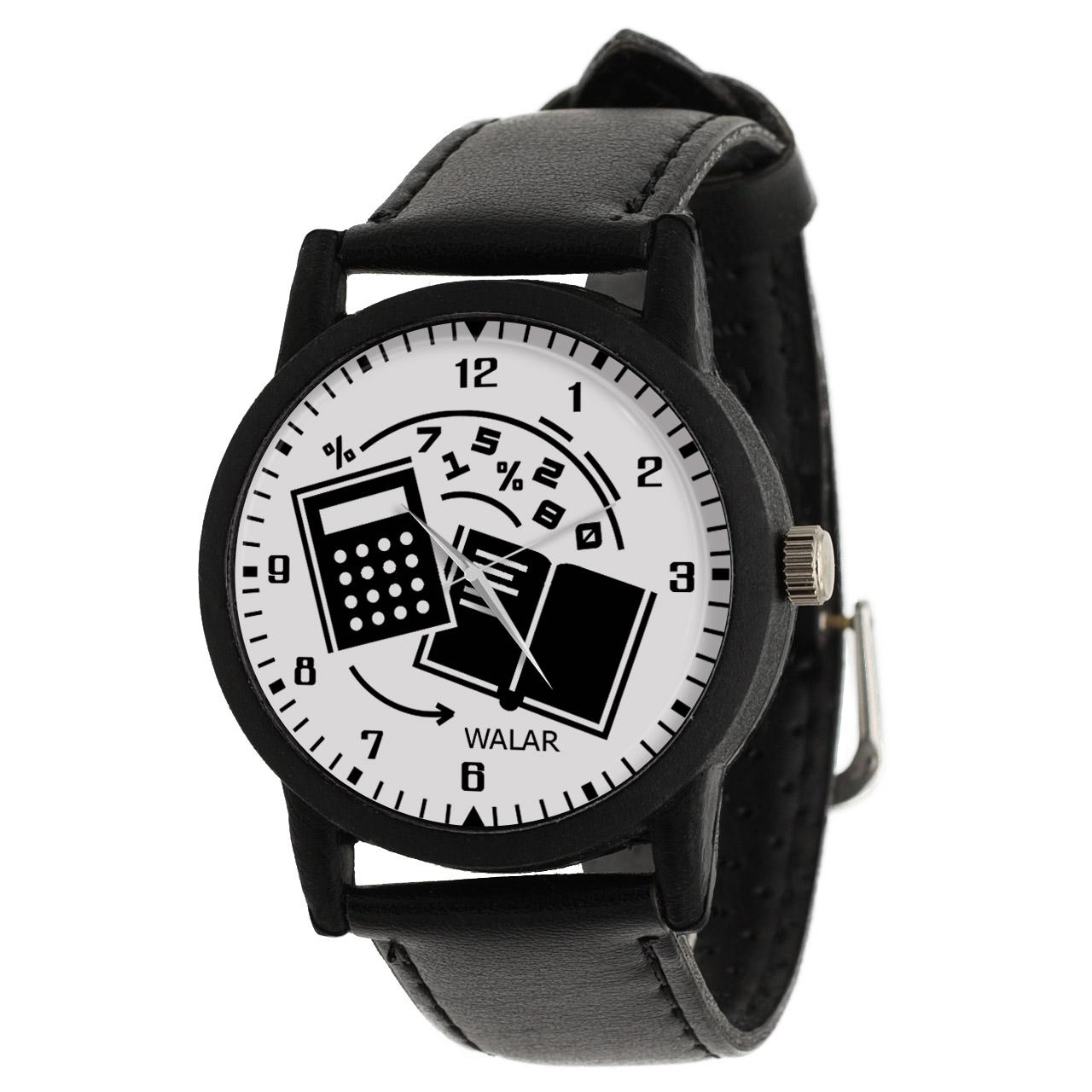 کد تخفیف                                      ساعت مچی عقربه ای والار طرح حسابداری کد LF2547