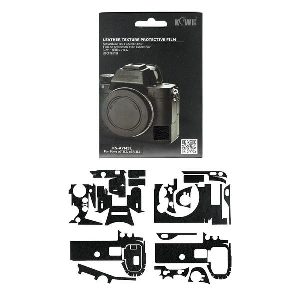 برچسب پوششی کی وی مدل KS-A7M3L مناسب برای دوربین عکاسی سونی a7III / a7RIII