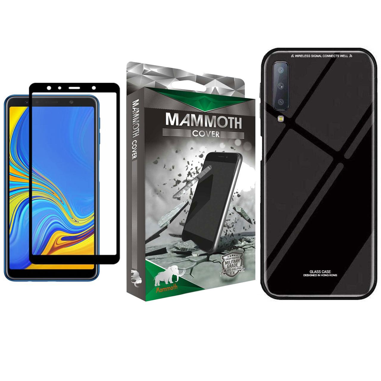 کاور ماموت مدل PGMA مناسب برای گوشی موبایل سامسونگ Galaxy A7 2018 به همراه محافظ صفحه نمایش