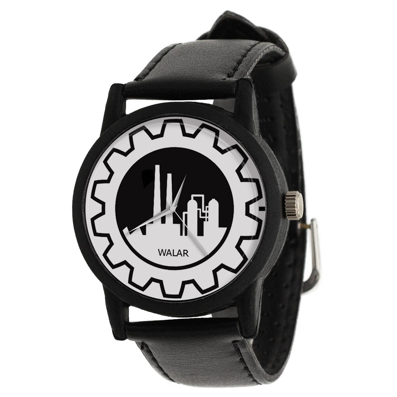 کد تخفیف                                      ساعت مچی عقربه ای والار طرح مهندسی صنایع کد LF2573