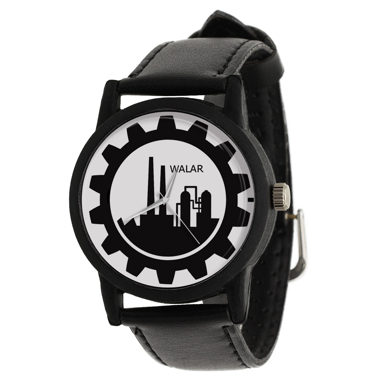 کد تخفیف                                      ساعت مچی عقربه ای والار طرح مهندسی صنایع کد LF2575
