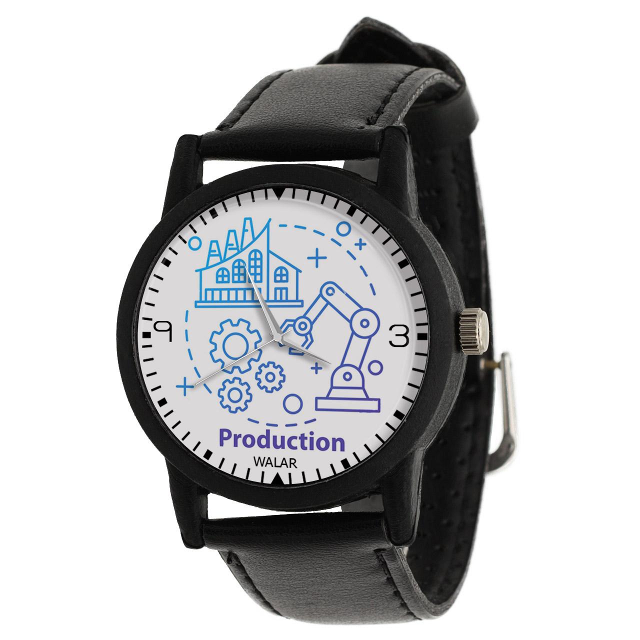 کد تخفیف                                      ساعت مچی عقربه ای والار طرح مهندسی صنایع کد LF2579
