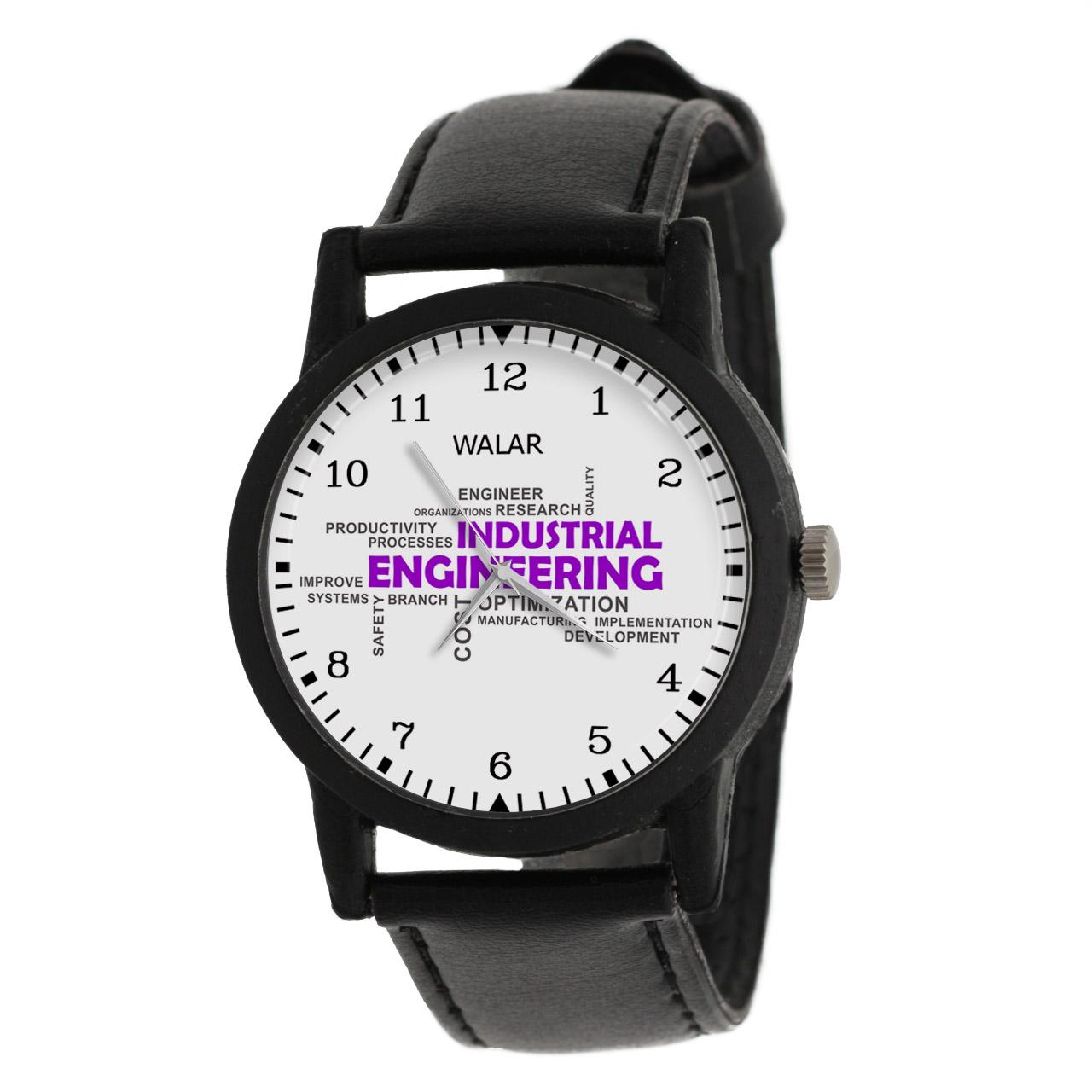 کد تخفیف                                      ساعت مچی عقربه ای والار طرح مهندسی صنایع کد LF2580