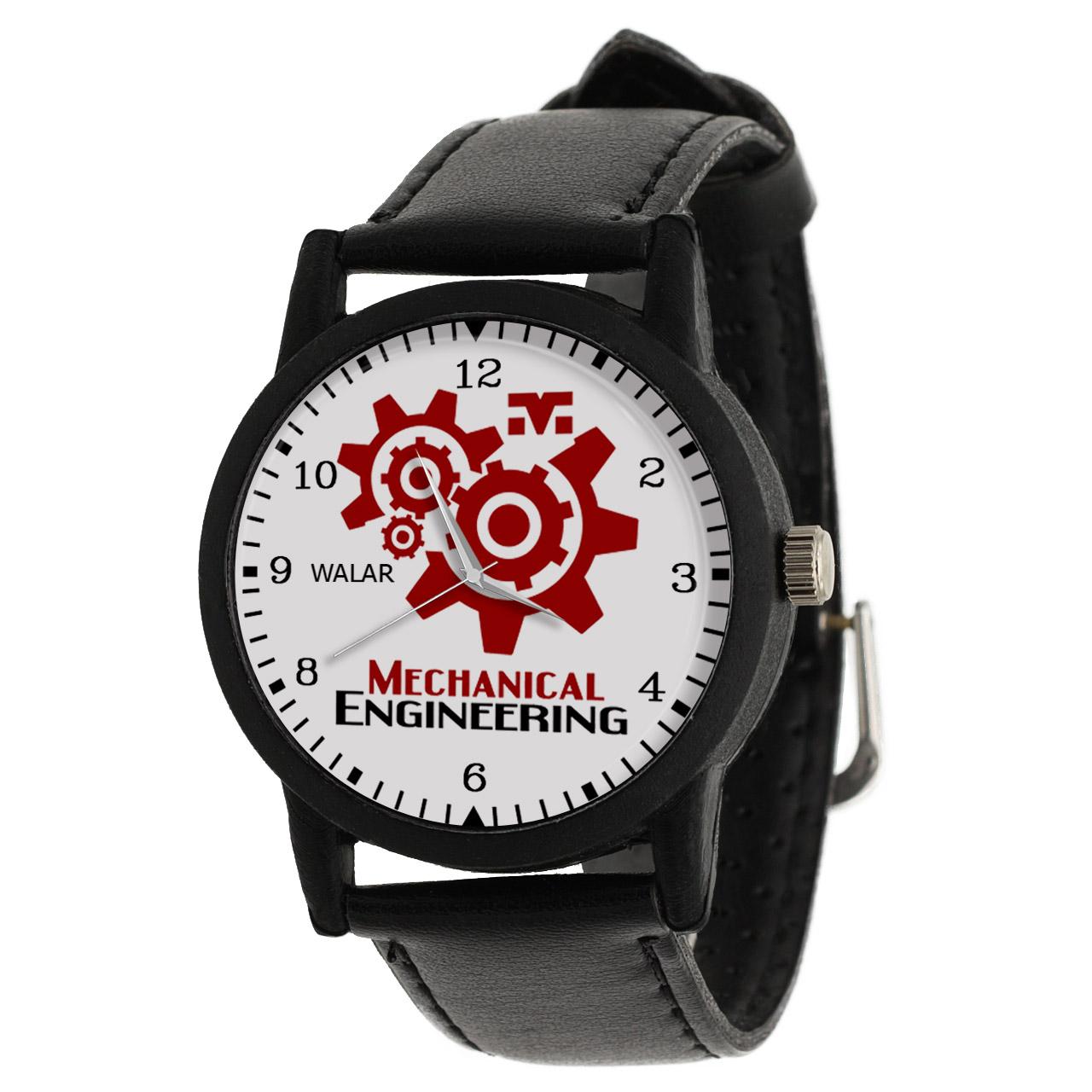 کد تخفیف                                      ساعت مچی عقربه ای والار طرح مهندسی مکانیک کد LF2583