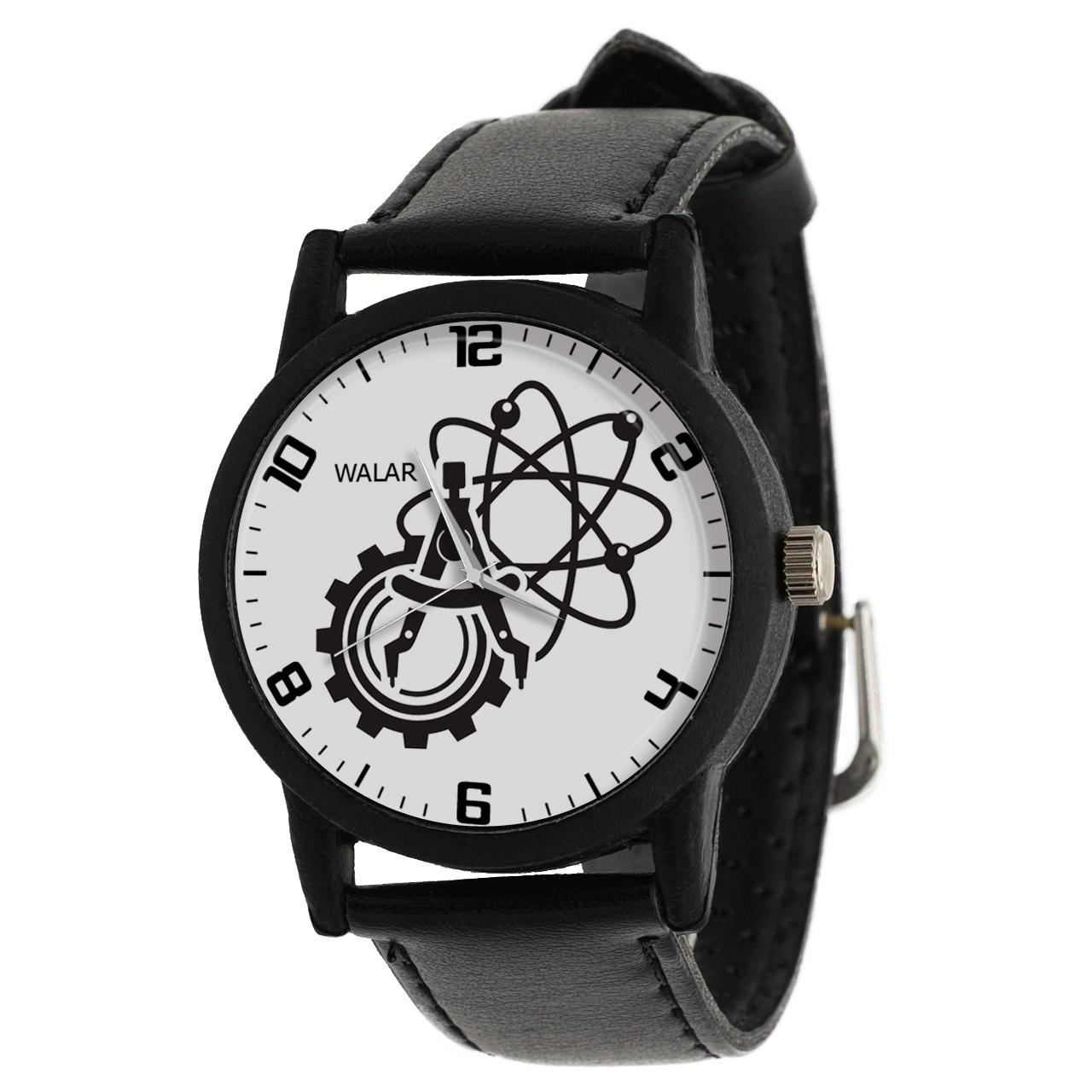کد تخفیف                                      ساعت مچی عقربه ای والار طرح مهندسی مکانیک کد LF2584