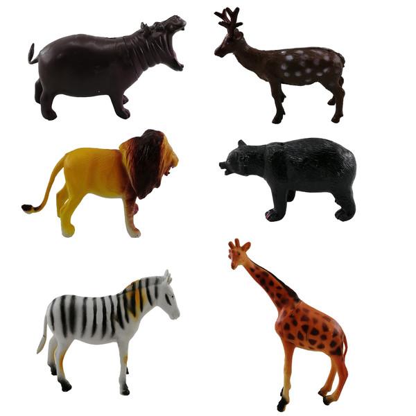 فیگور حیوانات Animal Kingdom کد A2 مجموعه 6 عددی