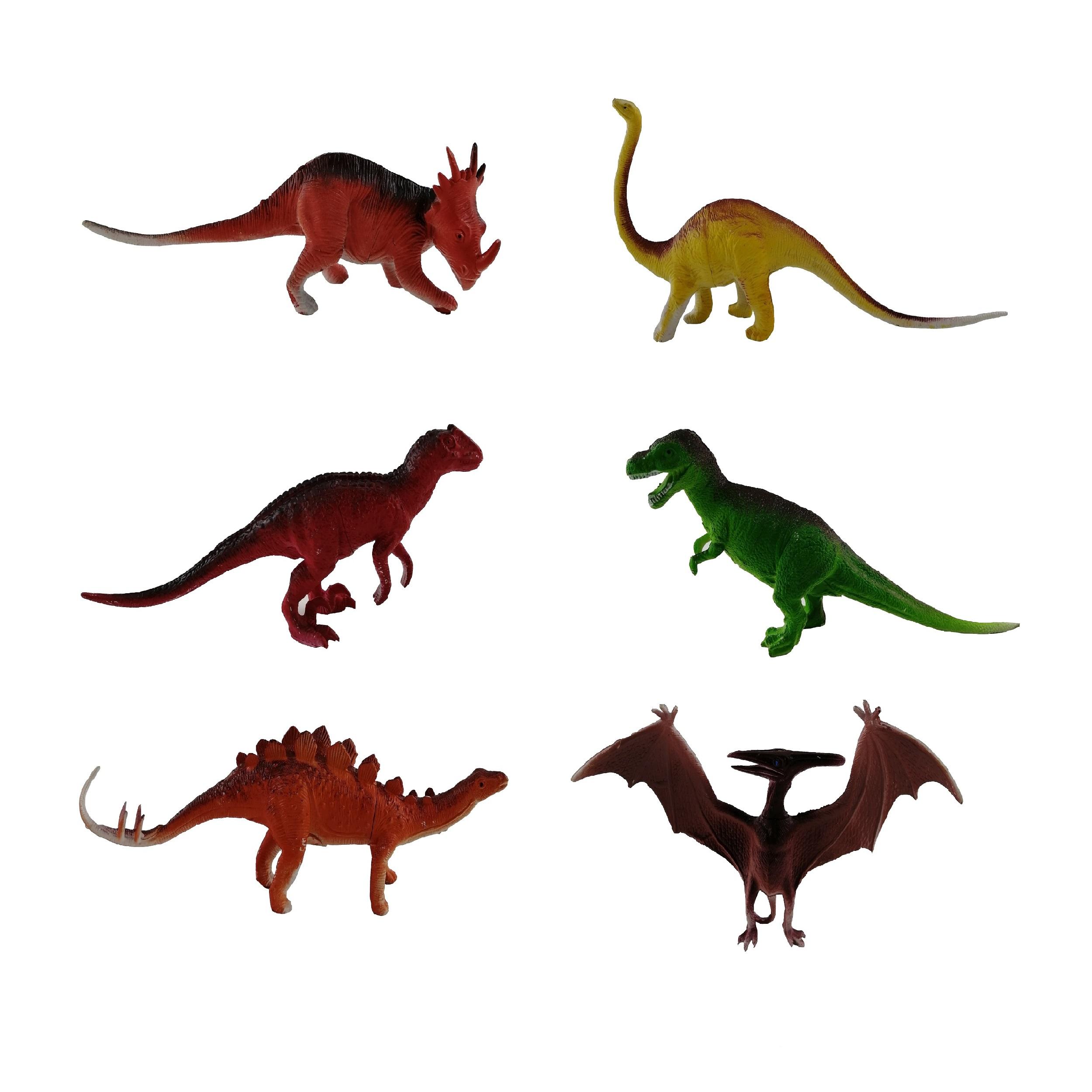 فیگور حیوانات مدل Animal Kingdom کد A3 مجموعه 6 عددی