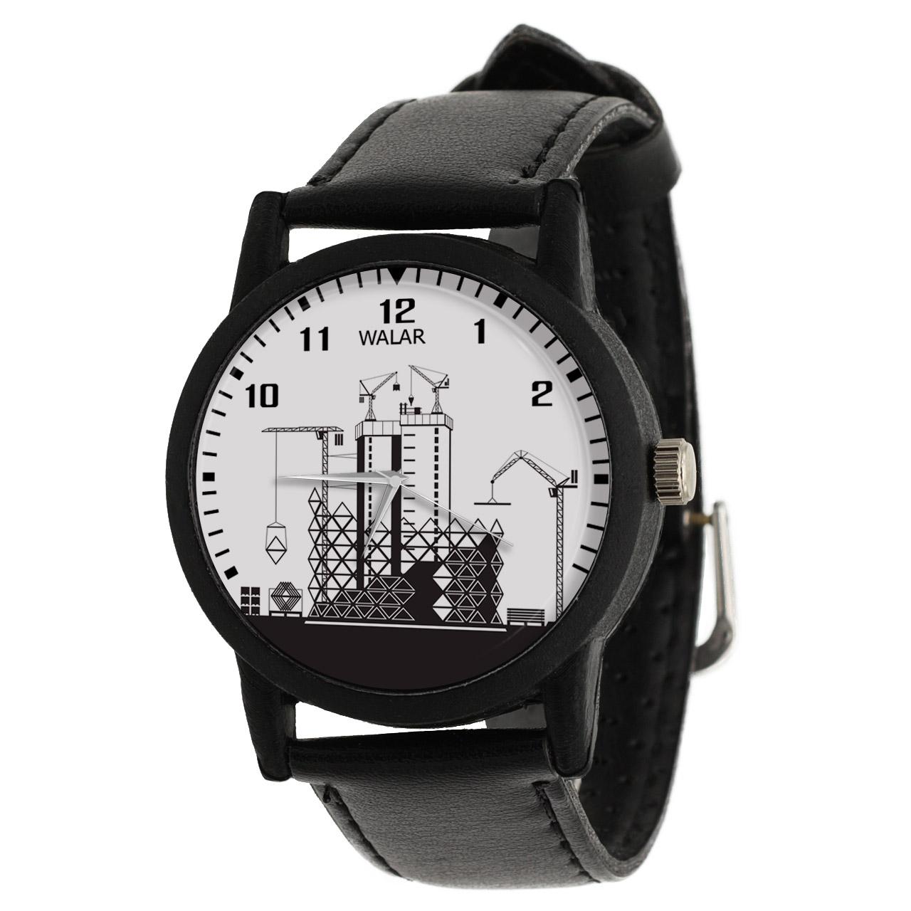 کد تخفیف                                      ساعت مچی عقربه ای والار طرح مهندسی عمران کد LF2594