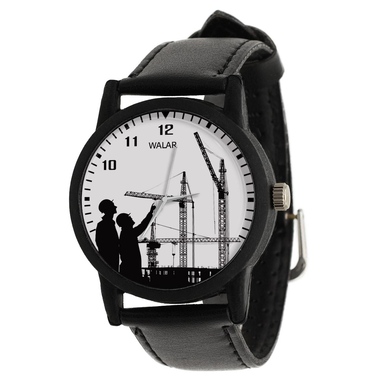 کد تخفیف                                      ساعت مچی عقربه ای مردانه والار طرح مهندسی کد LF2597