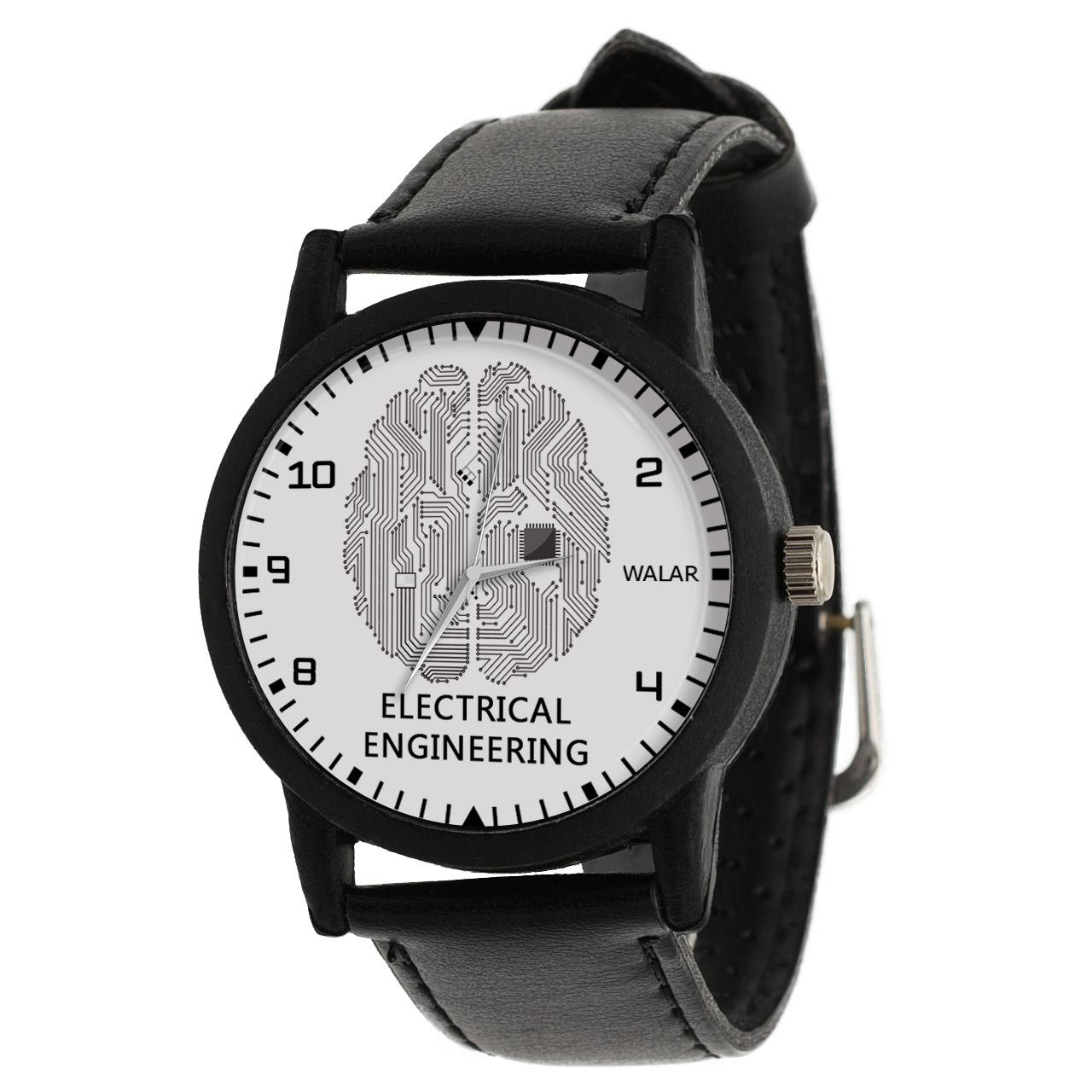 کد تخفیف                                      ساعت مچی عقربه ای والار طرح مدار الکتریکی کد LF2604