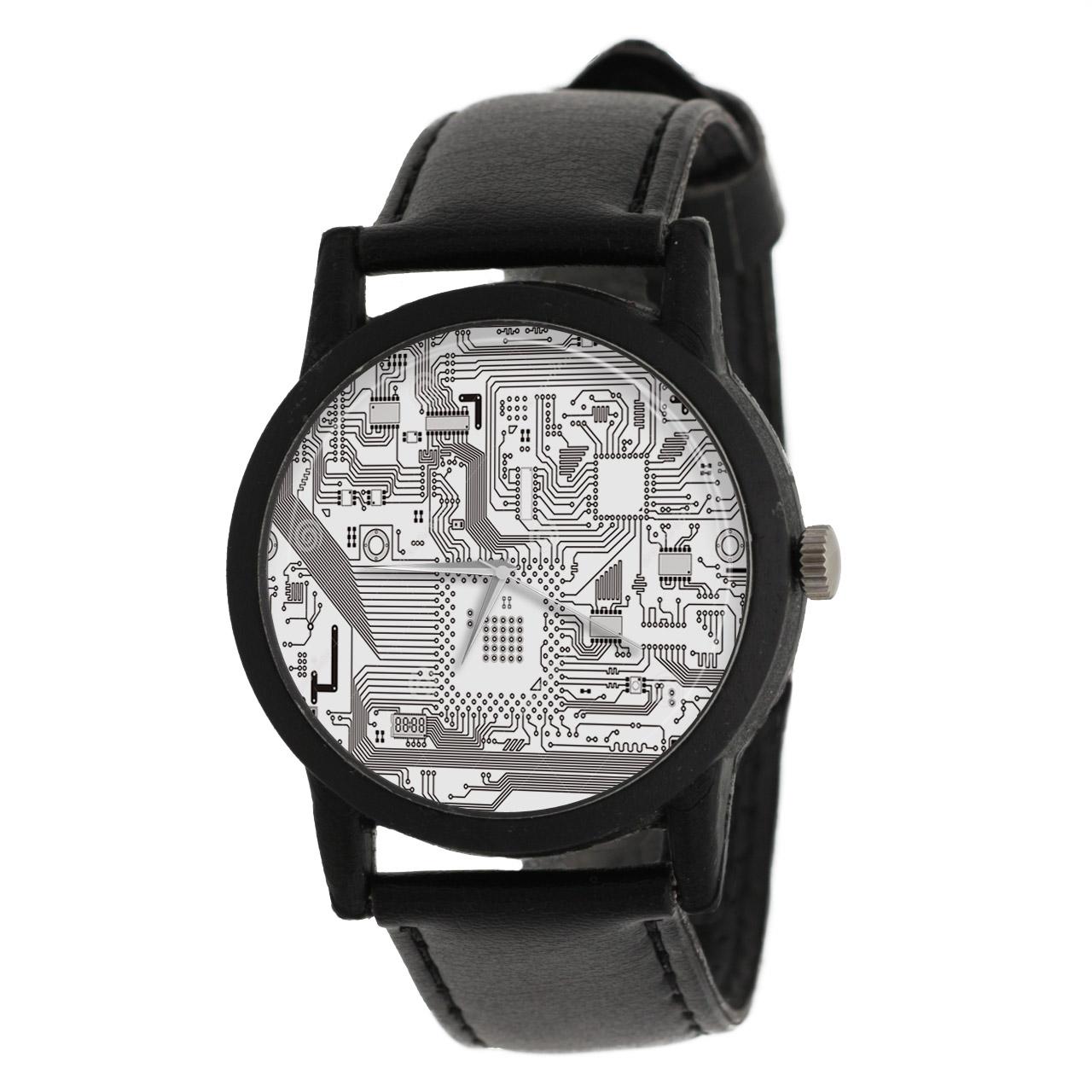 کد تخفیف                                      ساعت مچی عقربه ای والار طرح مدار الکتریکی کد LF2605