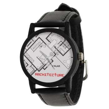 ساعت مچی عقربه ای والار طرح معماری کد LF2618
