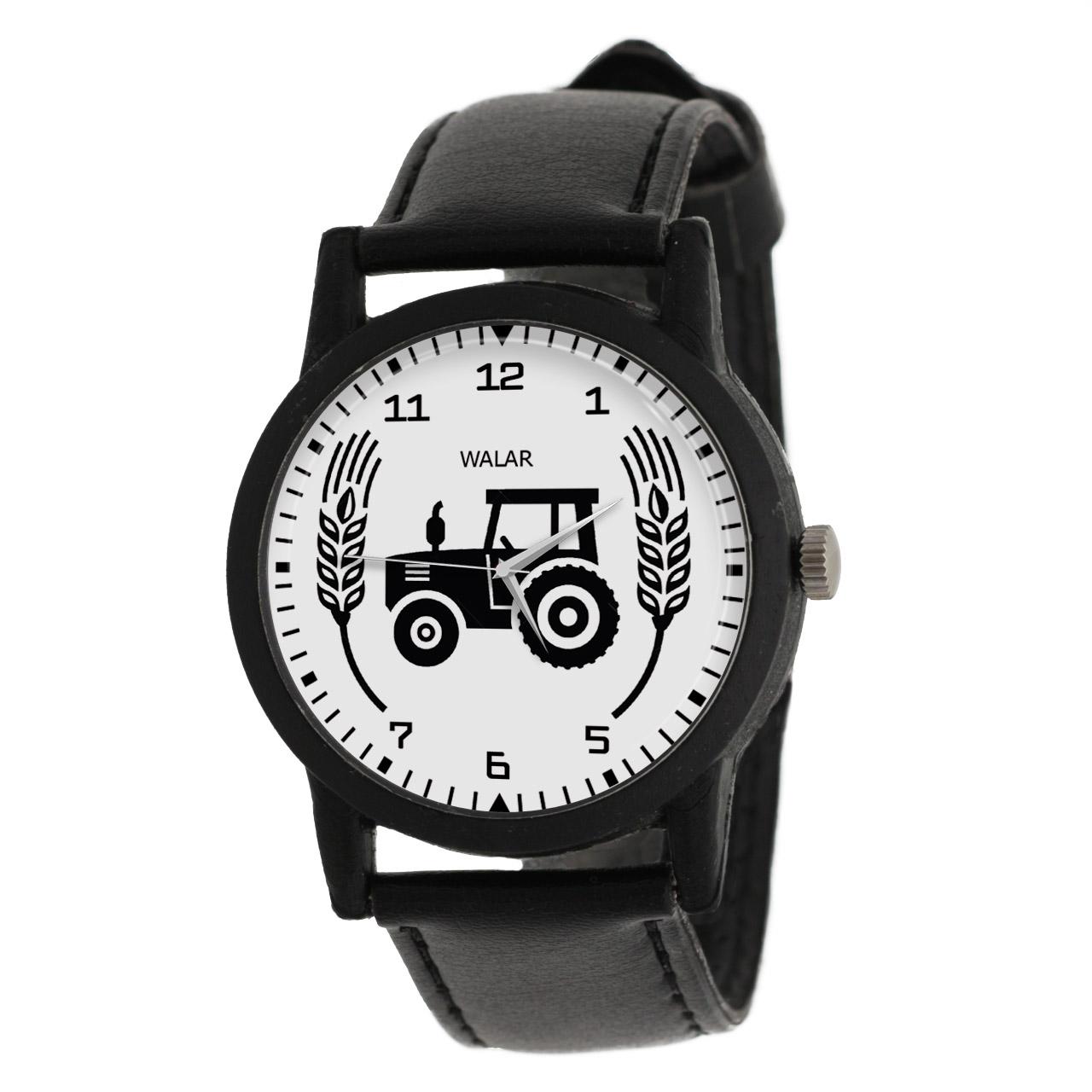 ساعت مچی عقربه ای والار طرح کشاورزی کد LF2624