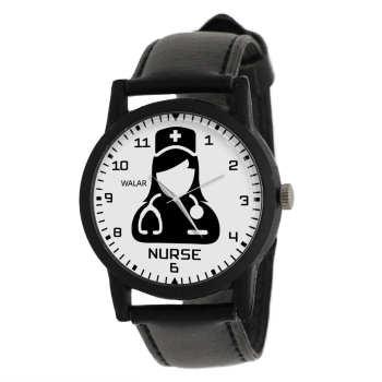 ساعت مچی عقربه ای زنانه والار طرح پرستاری کد LF2633
