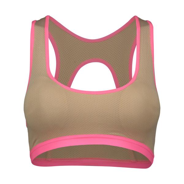 نیم تنه ورزشی زنانه کد 55 رنگ کرم