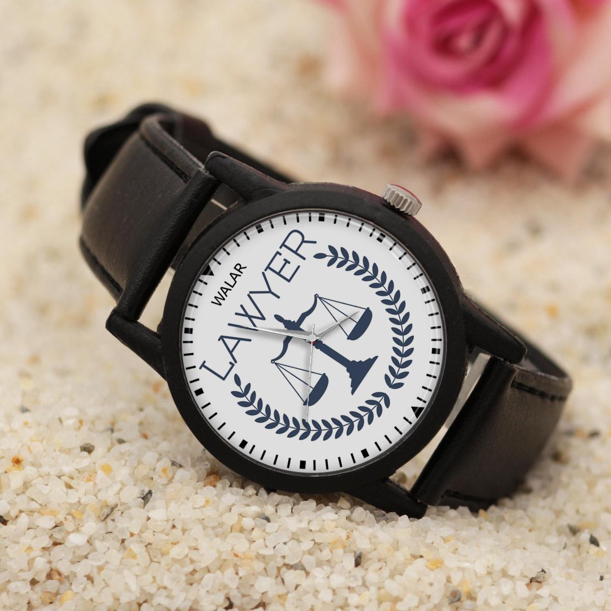 ساعت مچی عقربه ای والار طرح وکیل کد LF2638