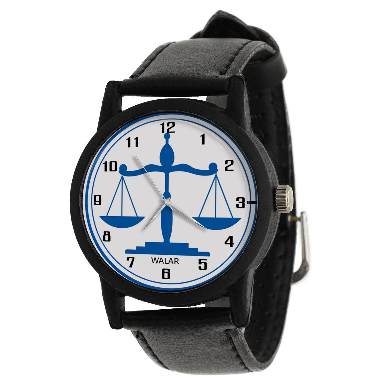 ساعت مچی عقربه ای والار طرح وکیل کد LF2639