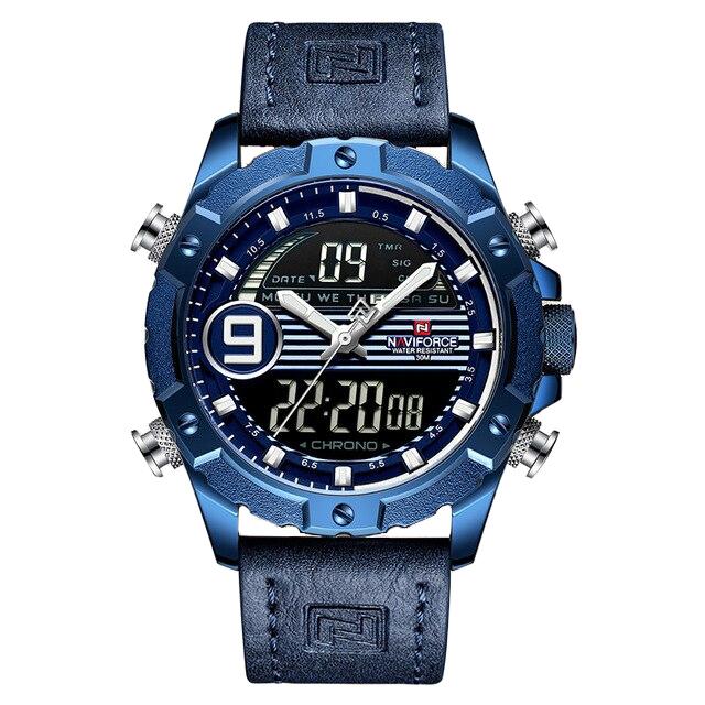 کد تخفیف                                      ساعت مچی دیجیتال مردانه نیوی فورس مدل NF9146M - SO