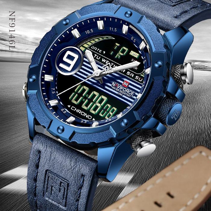 ساعت مچی دیجیتال مردانه نیوی فورس مدل NF9146M - SO