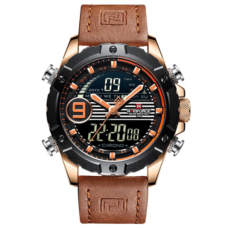 کد تخفیف                                      ساعت مچی دیجیتال مردانه نیوی فورس مدل NF9146M - GHA-NA