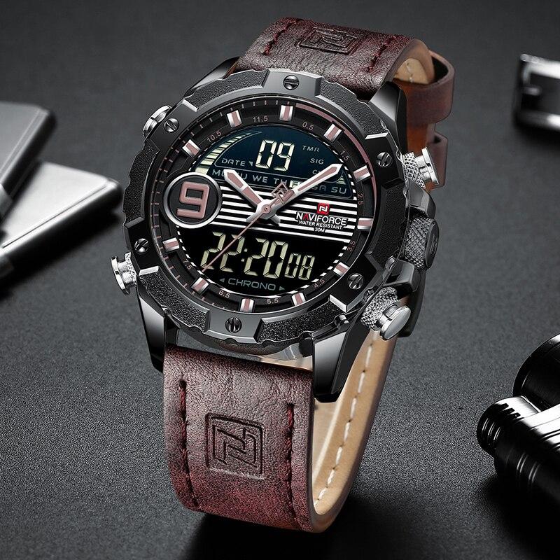 ساعت مچی دیجیتال مردانه نیوی فورس مدل NF9146M - BAD             قیمت