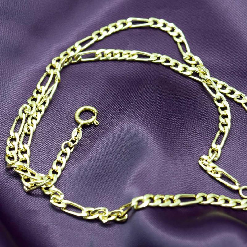 زنجیر طلا 18 عیار زنانه کانیار گالری کد F45