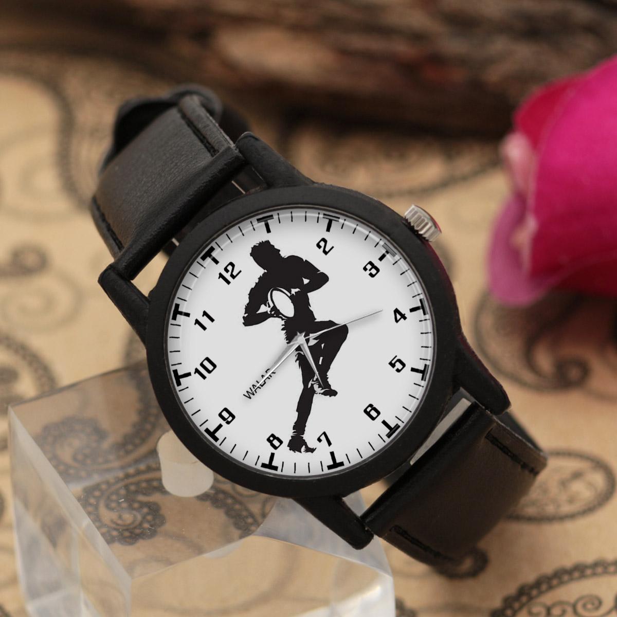 کد تخفیف                                      ساعت مچی عقربه ای مردانه والار طرح راگبی کد LF2654