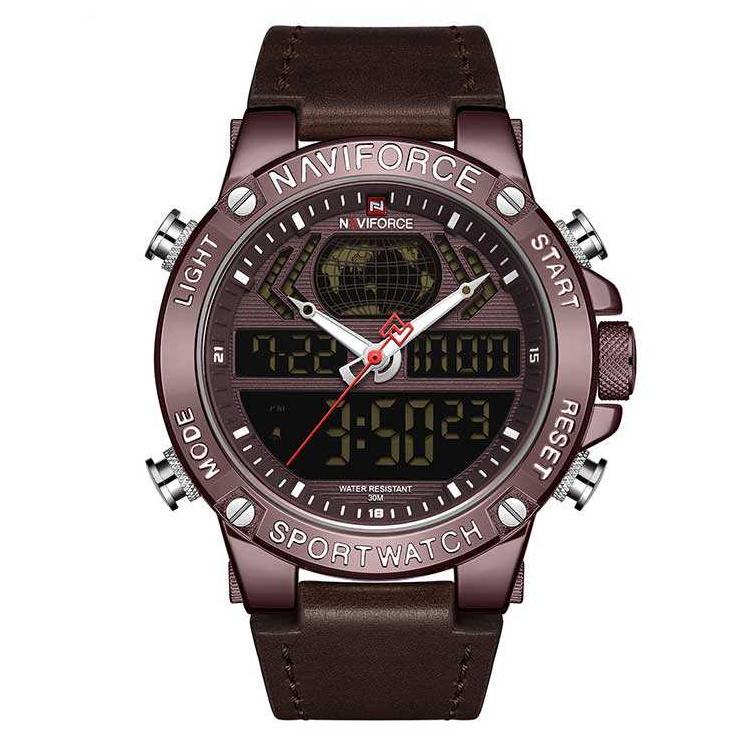کد تخفیف                                      ساعت مچی دیجیتال مردانه نیوی فورس مدل NF9164M - GHA-GHA