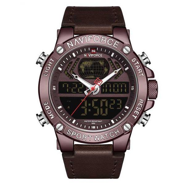 ساعت مچی دیجیتال مردانه نیوی فورس مدل NF9164M - GHA-GHA