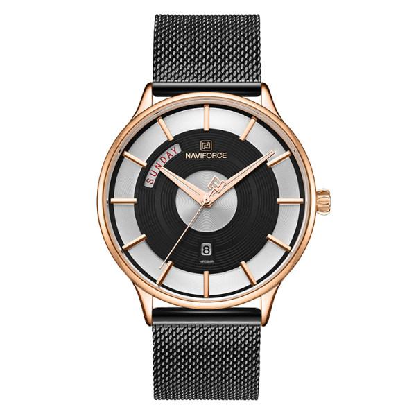 قیمت و خرید                      ساعت مچی عقربه ای مردانه نیوی فورس مدل NF3007M - ME-RZ