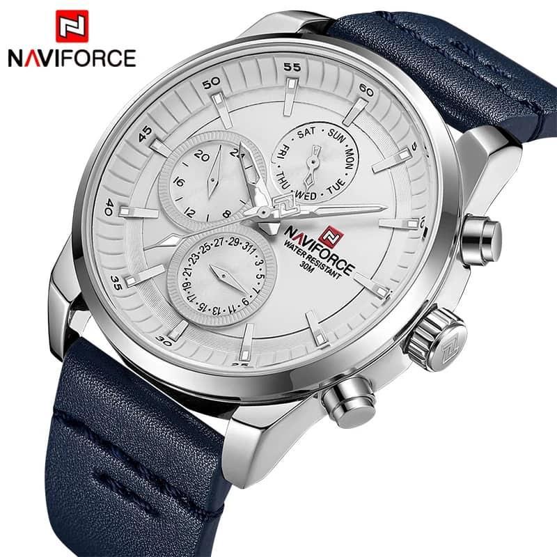 کد تخفیف                                      ساعت مچی عقربه ای مردانه نیوی فورس مدل NF9148M - SO-SE