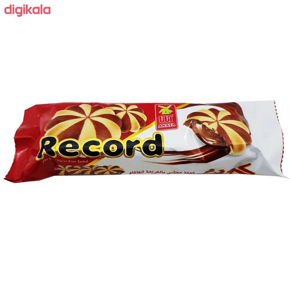 بیسکویت با مغز کرم کاکائو آناتا - 60 گرم بسته 48 عددی  main 1 1