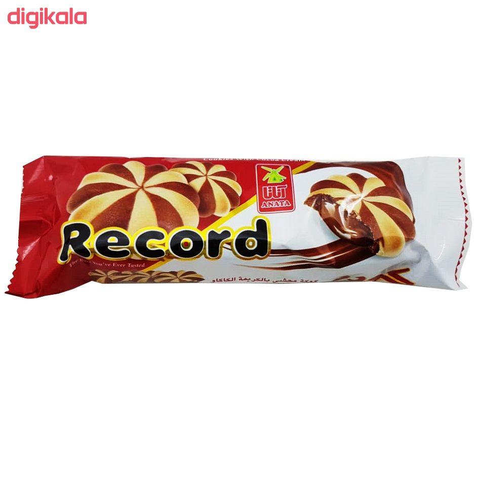 بیسکویت با مغز کرم کاکائو آناتا - 60 گرم بسته 48 عددی  main 1 3