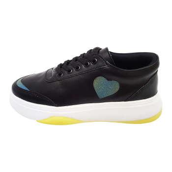 کفش روزمره زنانه سون کالکشن طرح قلب کد K25-BY