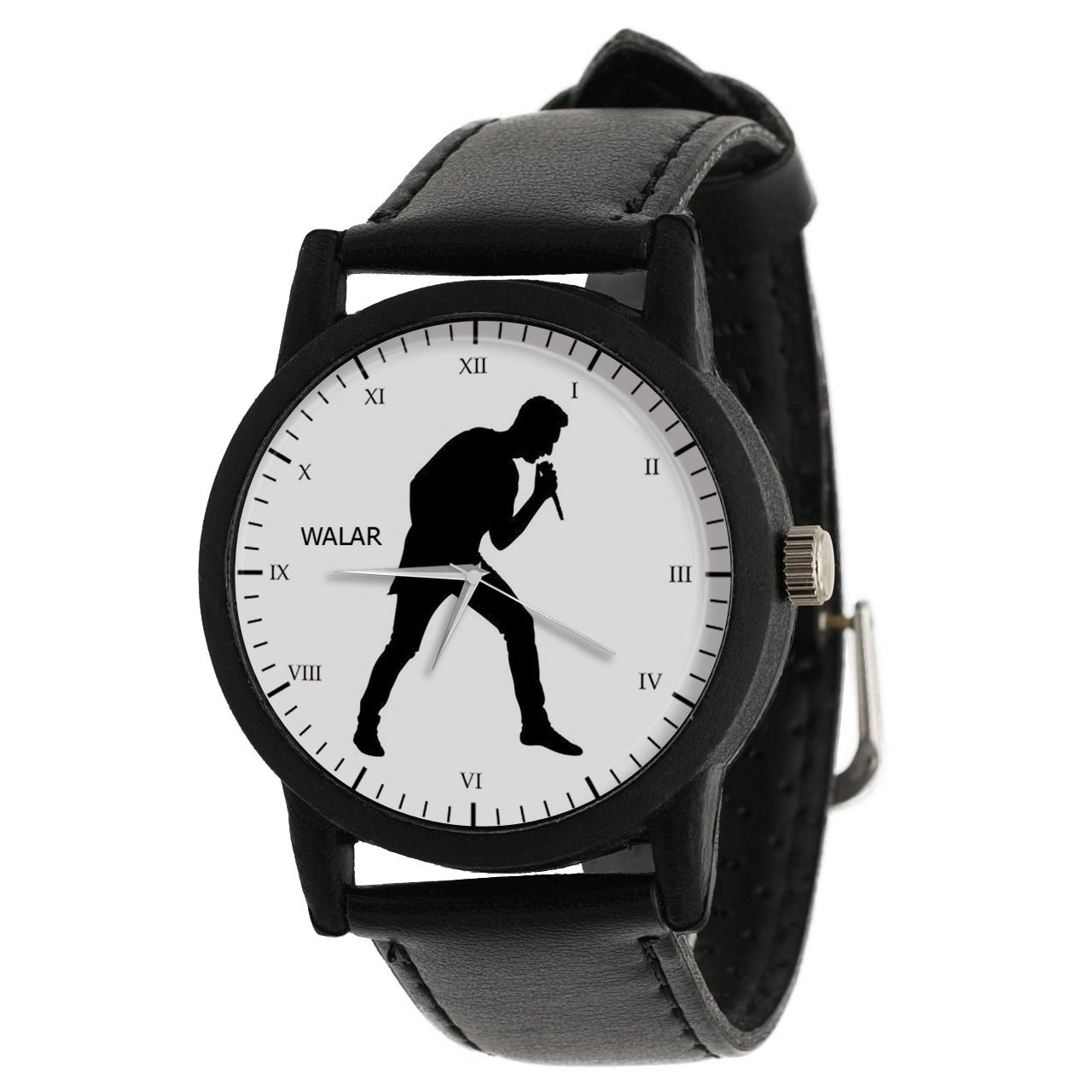 کد تخفیف                                      ساعت مچی عقربه ای مردانه والار طرح خواننده کد LF2662
