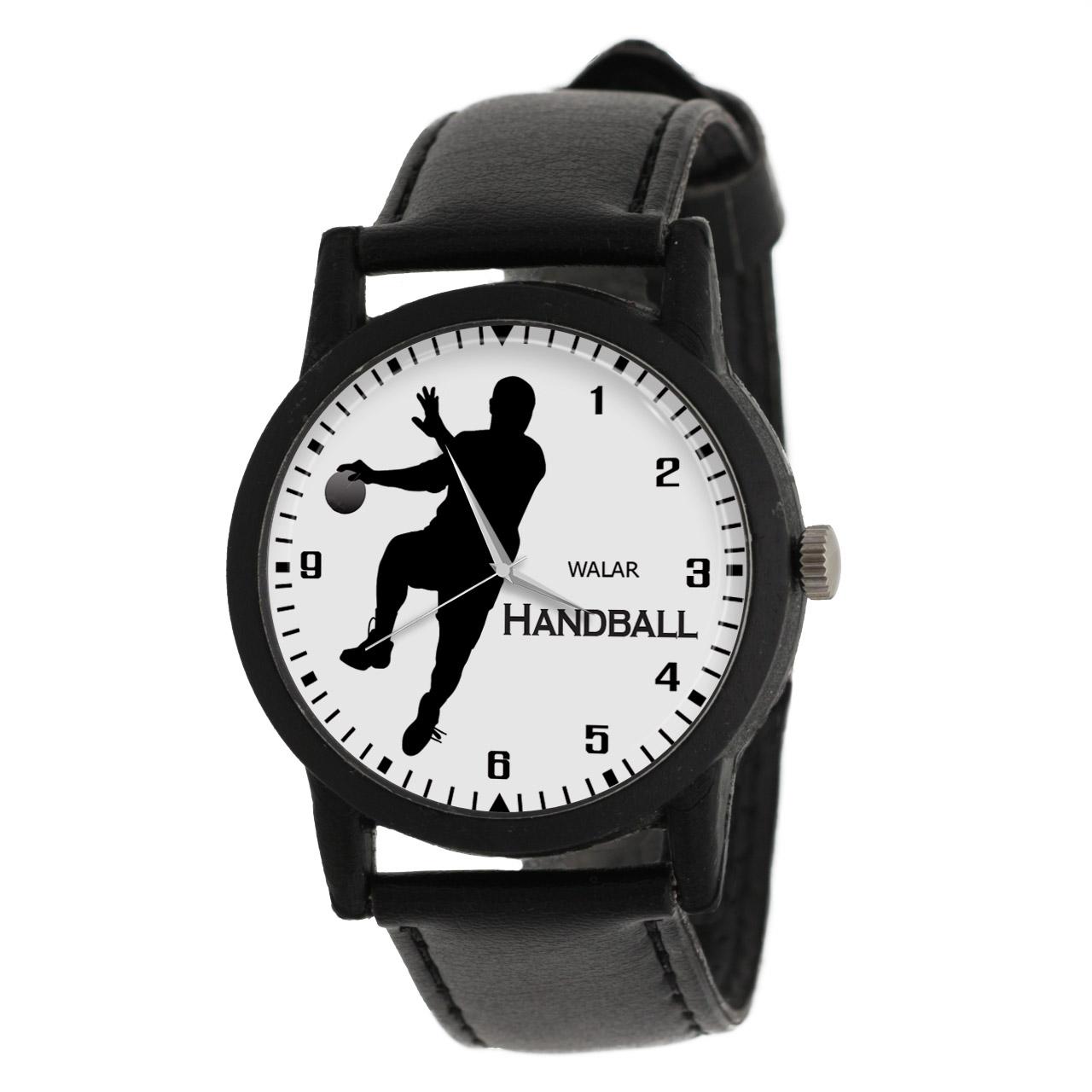 کد تخفیف                                      ساعت مچی عقربه ای مردانه والار طرح هندبال کد LF2665
