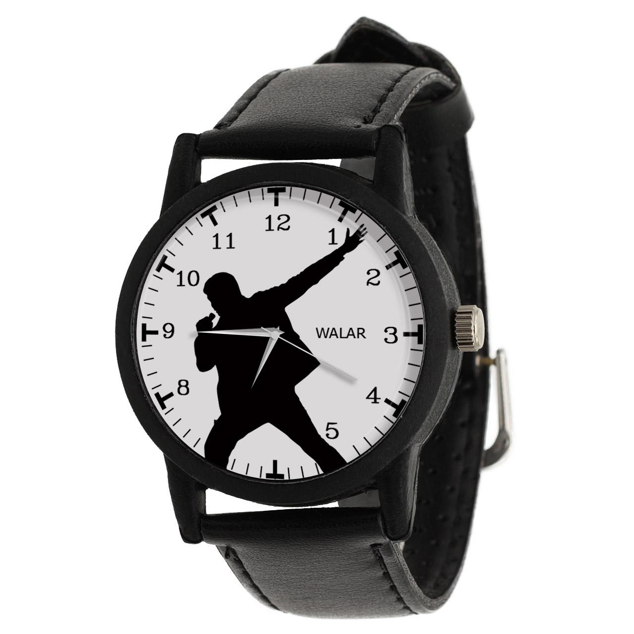 کد تخفیف                                      ساعت مچی عقربه ای مردانه والار طرح خواننده کد LF2666