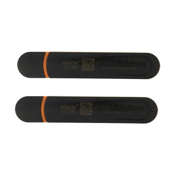 نوک مداد نوکی 0.7 میلی متری نو مدل G-2297 کد 12 بسته 2 عددی