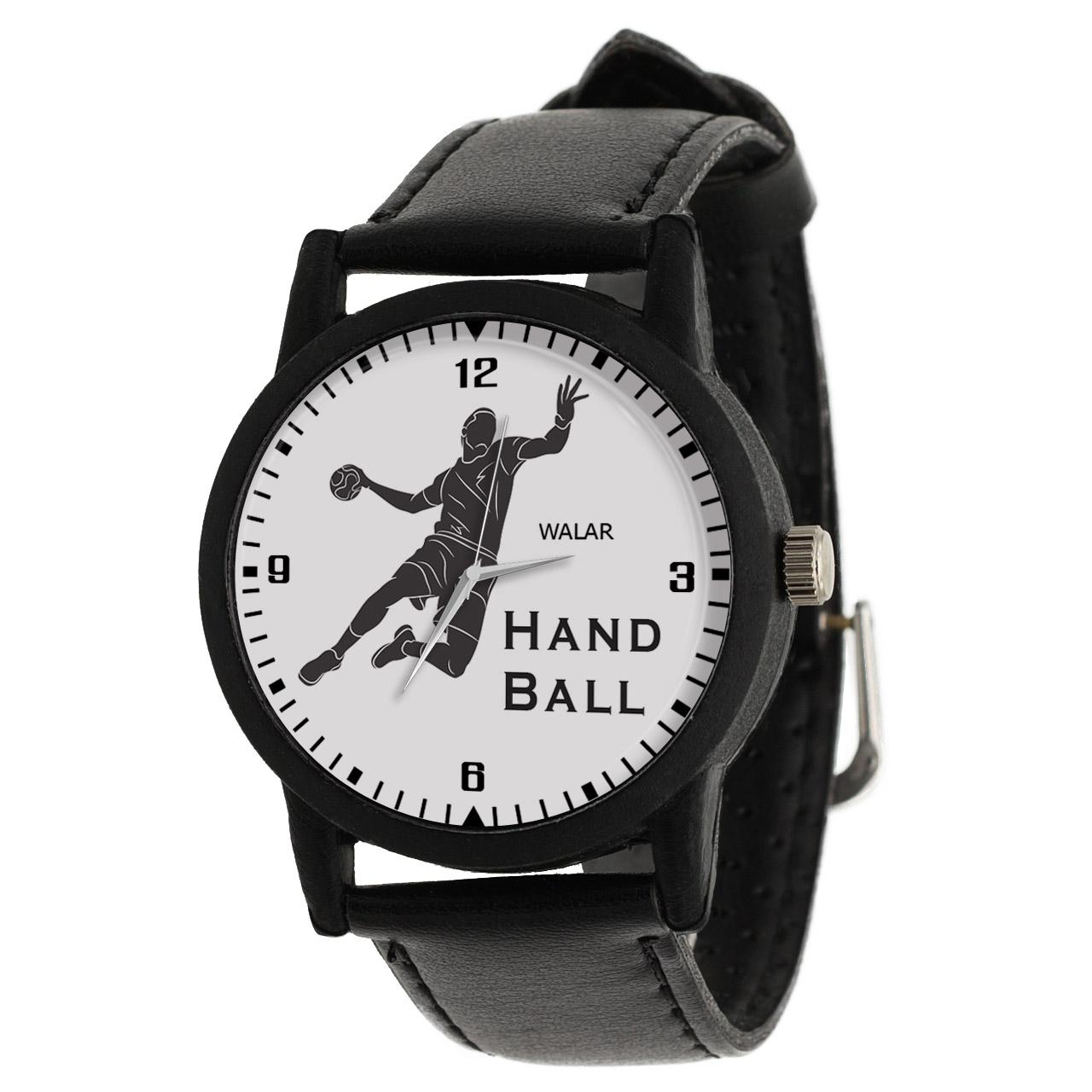 کد تخفیف                                      ساعت مچی عقربه ای مردانه والار طرح هندبال کد LF2676