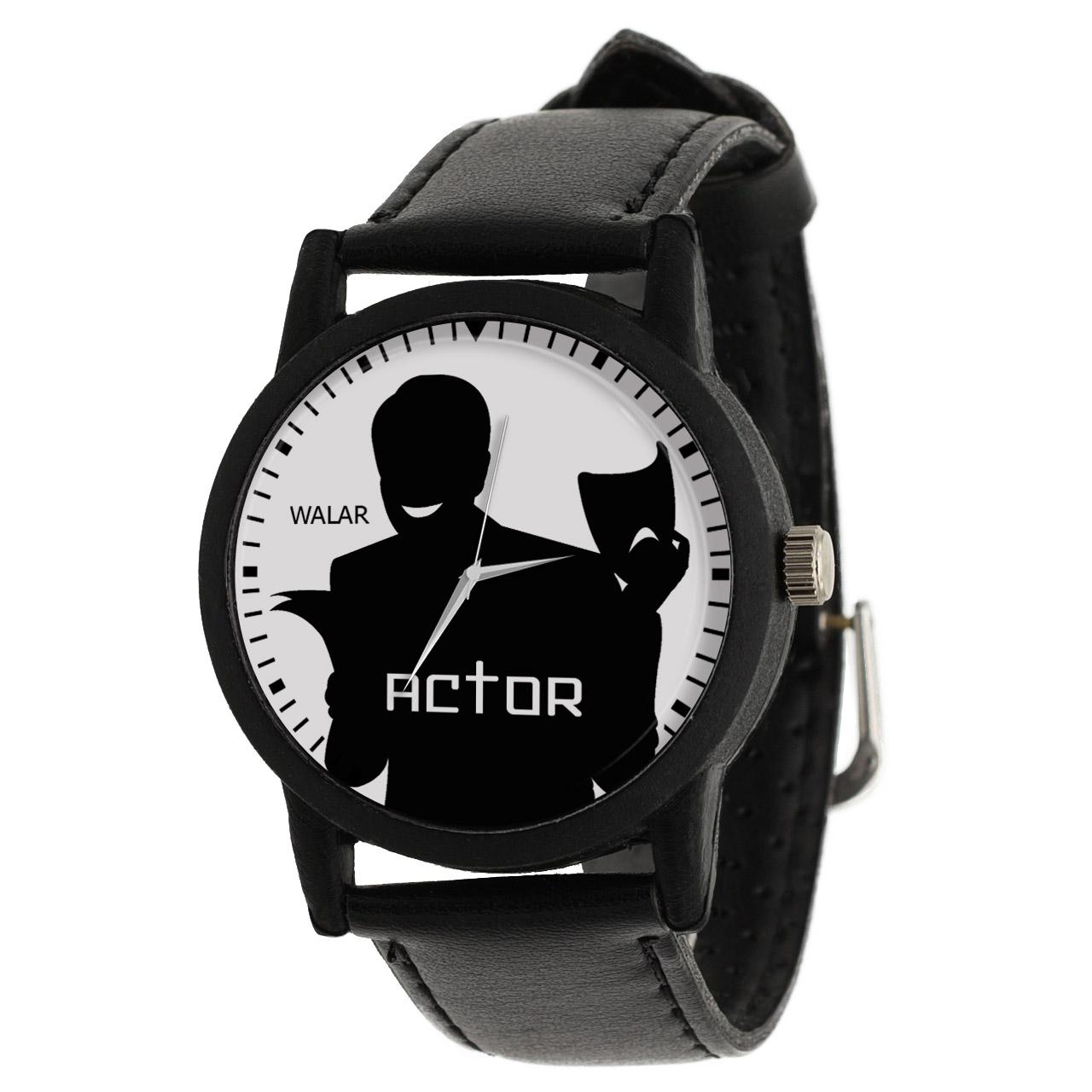 ساعت مچی عقربه ای مردانه والار طرح بازیگر کد LF2678