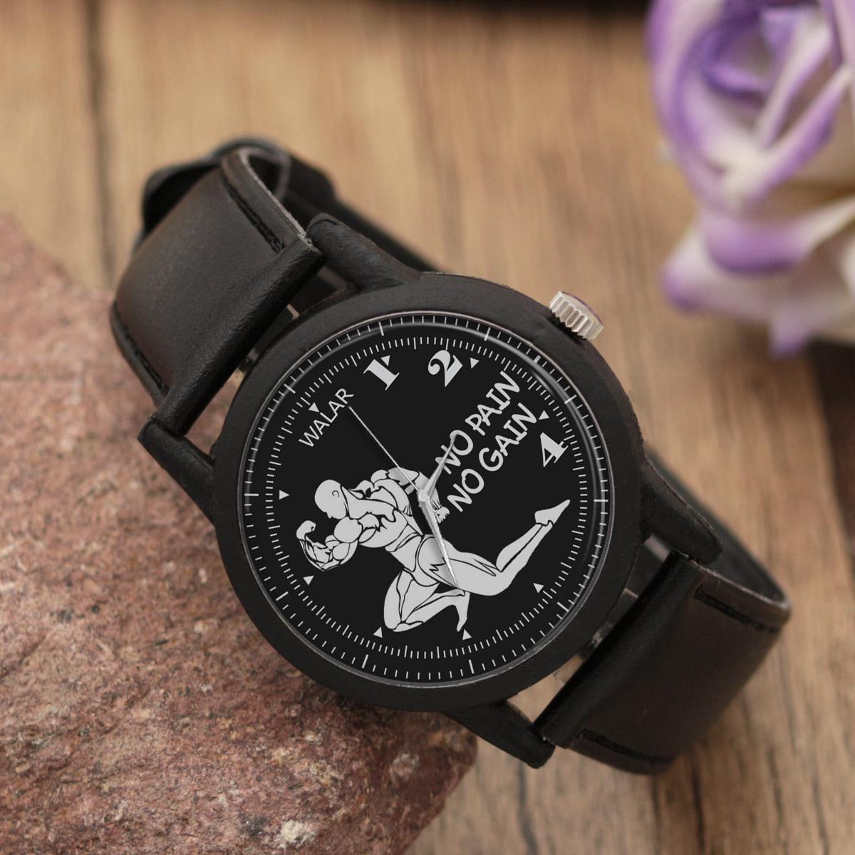 ساعت مچی عقربه ای مردانه والار طرح بدنسازی کد LF2680