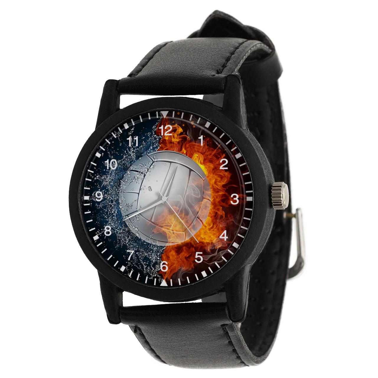 کد تخفیف                                      ساعت مچی عقربه ای والار طرح والیبال کد LF2686