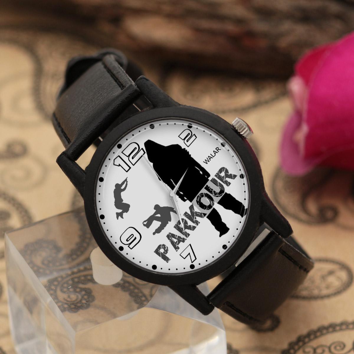 ساعت مچی عقربه ای والار طرح پارکور کد LF2699              خرید (⭐️⭐️⭐️)