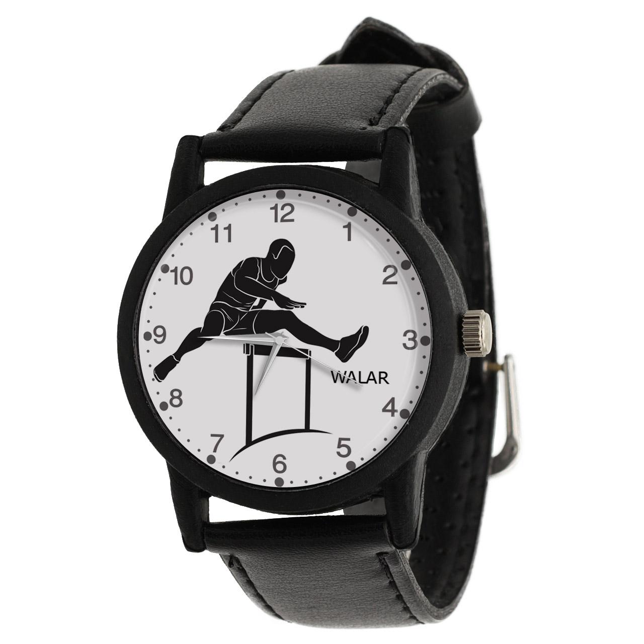کد تخفیف                                      ساعت مچی عقربه ای مردانه والار طرح دوی با مانع کد LF2703