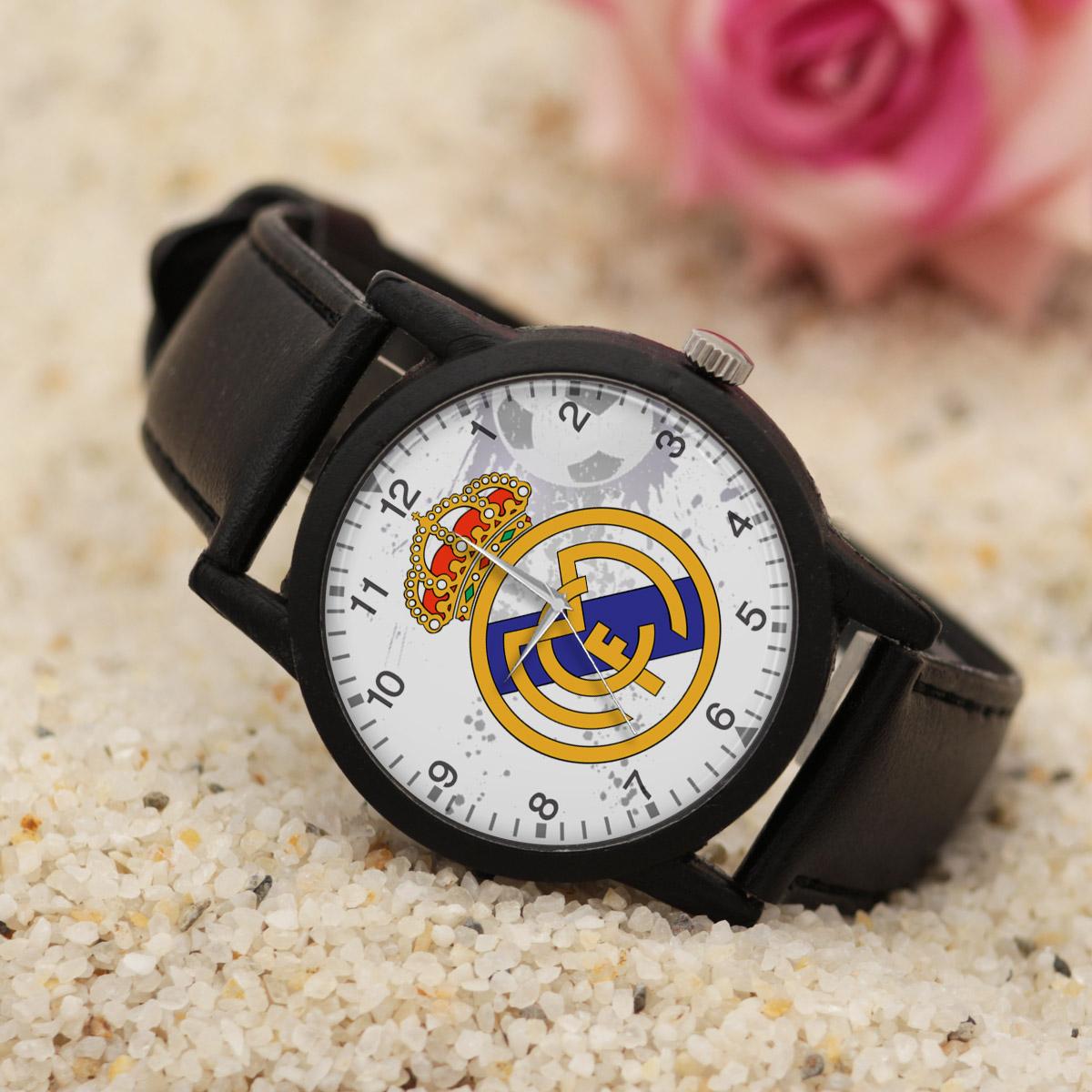 کد تخفیف                                      ساعت مچی عقربه ای والار طرح رئال مادرید کد LF2720