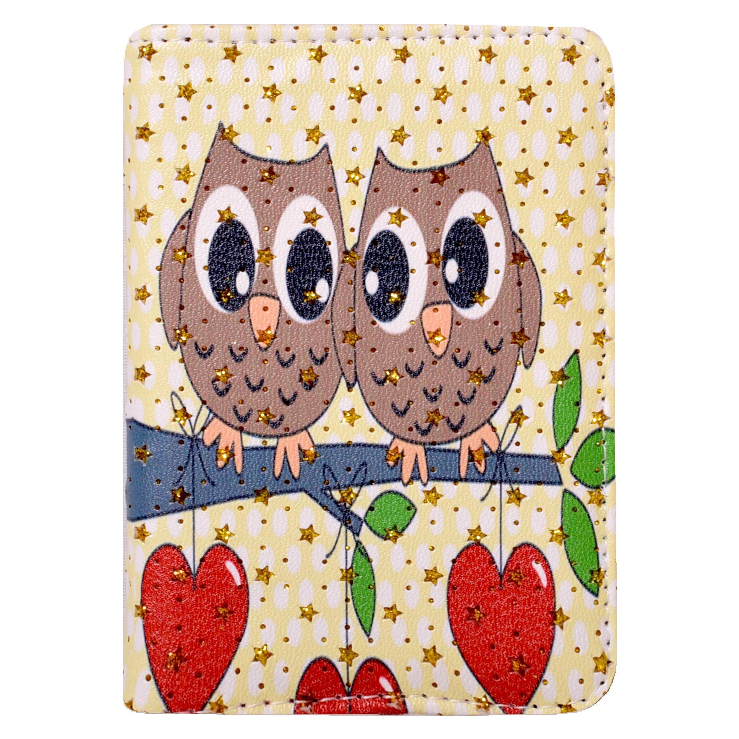 کیف پول دخترانه کد OWL-554-6