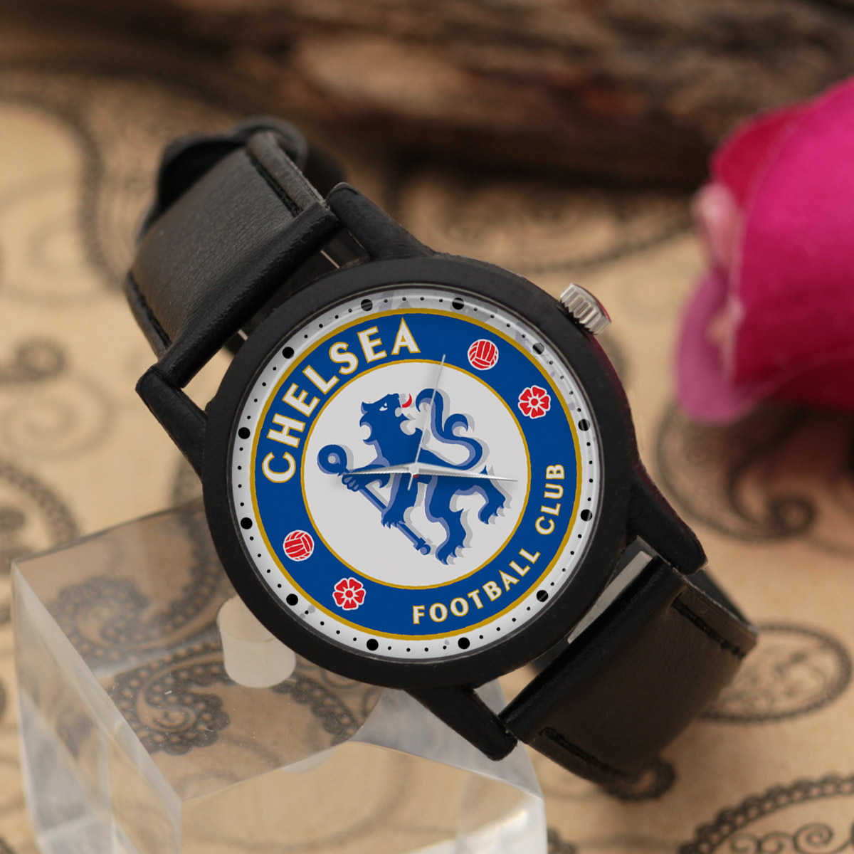ساعت مچی عقربه ای والار طرح چلسی کد LF2721              خرید (⭐️⭐️⭐️)