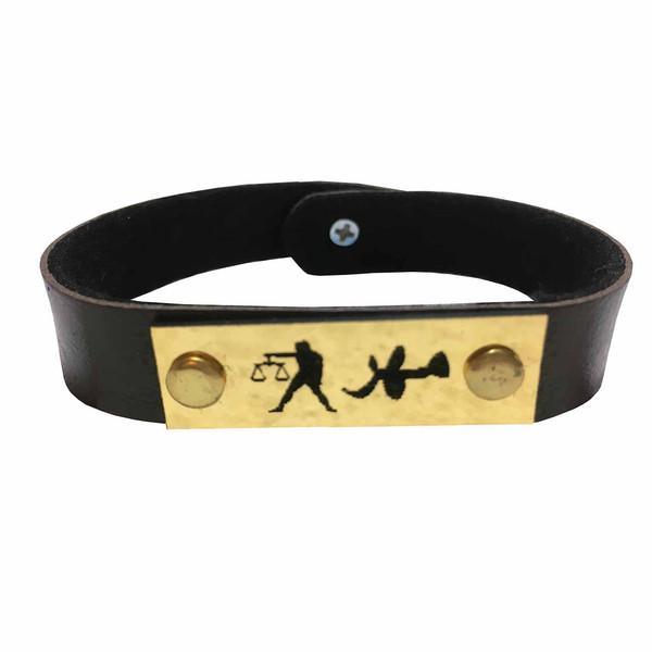 دستبند زنانه طرح ماه مهر مدل El02051