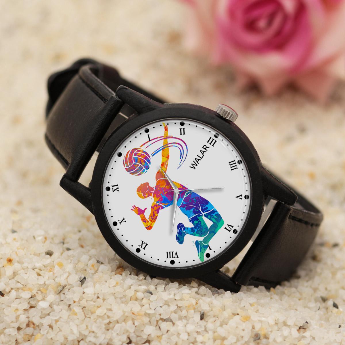 ساعت مچی عقربه ای والار طرح والیبال کد LF2739              خرید (⭐️⭐️⭐️)