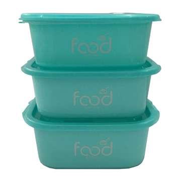 ظرف نگهدارنده غذا کد 619 بسته 3 عددی